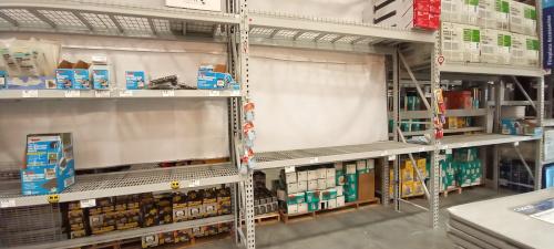 Store Shelves Are Often Bare