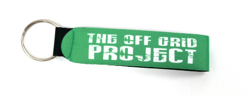 The Off Grid Project Key Chain Green