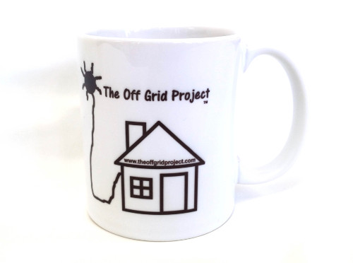 The Off Grid Project Coffee Mug Black