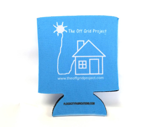 The Off Grid Project Cup Cozy Blue