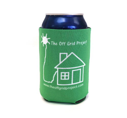 The Off Grid Project Cup Cozy Green