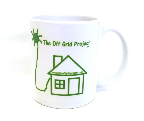 The Off Grid Project Coffee Mug Green