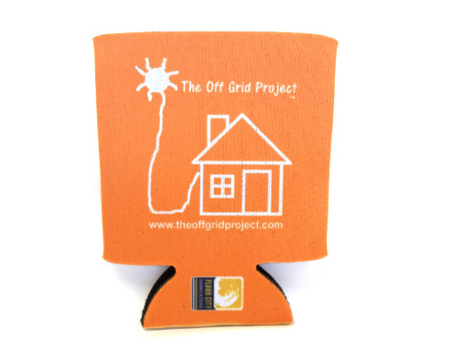 The Off Grid Project Cup Cozy Orange