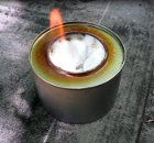 Make an emergency alcohol cooker